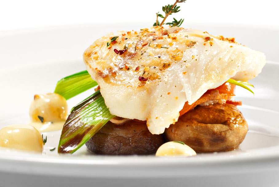 Hazelnut Halibut